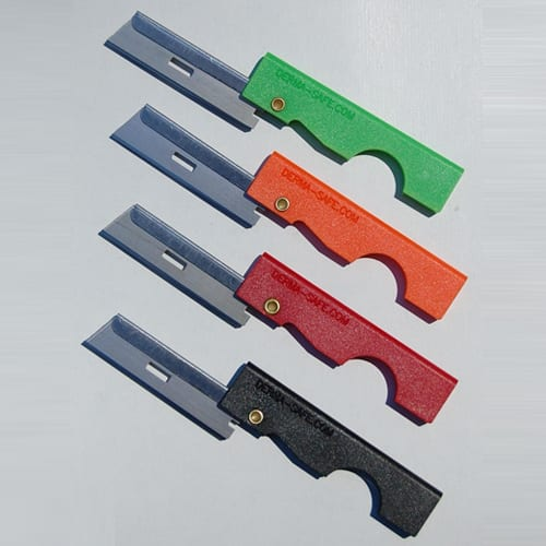 utility knife folding Derma Safe